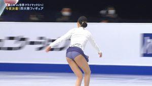【エロ目線】 四大陸フィギュアスケート選手権 in 韓国 女子フリー★2