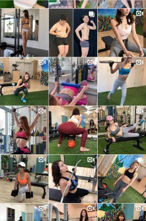 【朗報】女性の間でSNSにスポブラ姿のトレーニング動画をあげるのが大流行