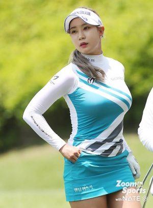 【画像】イ・ボミに次ぐ新おっぱいゴルフクイーン、ユ・ヒョンジュさんの爆乳www