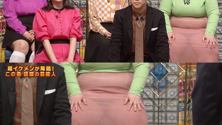 【画像】テレビ番組で女のパンティーが透けてしまう放送事故