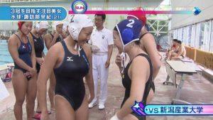 【画像】水泳部JK、胸が大きくて悩む・・・