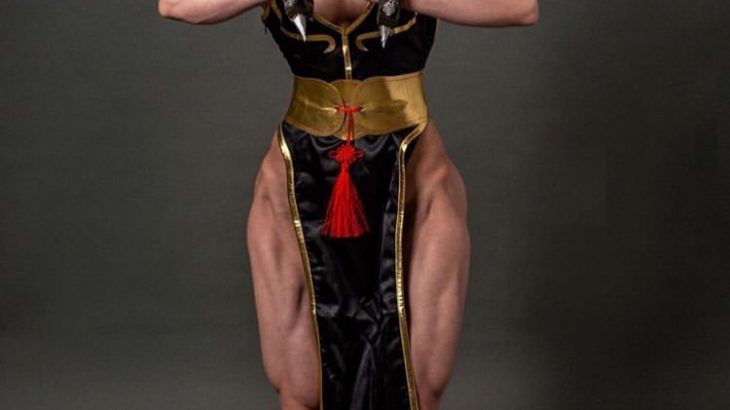 【画像】筋肉質な女の子の画像を貼るスレ