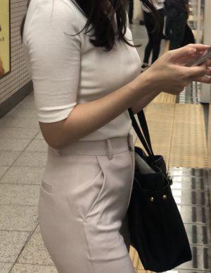 【実況】細身美人美尻高身長美人ガチの上玉OLお姉さん