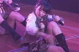 AKB向井地美音さん、公演でパンチラしてしまう