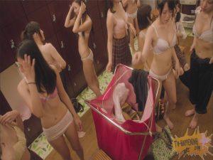 【画像あり】スタイルのいい女の子ばかりが集まる風呂の脱衣所