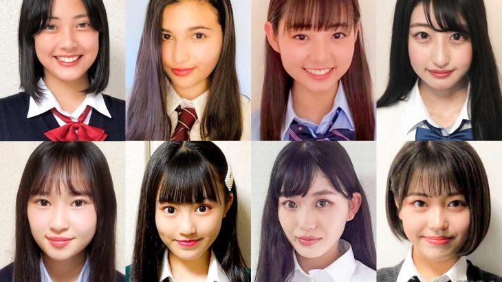【画像】日本一かわいいJKコンテストBEST8が出揃う