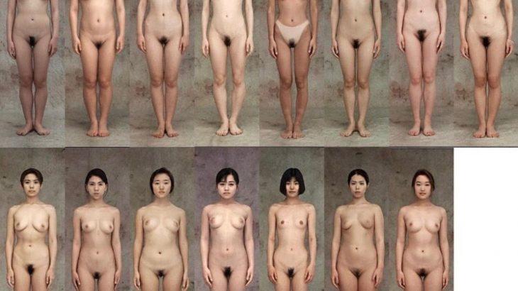 どの女体を選ぶかで性的経験が分かる画像がこちら
