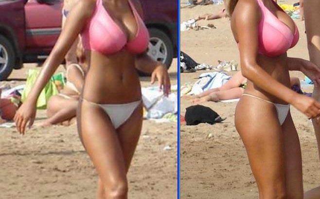 【画像】ブラジルの恵体(えたい)JKの水着エロすぎ