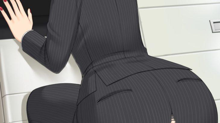 【画像】美人OL、パンツが裂ける