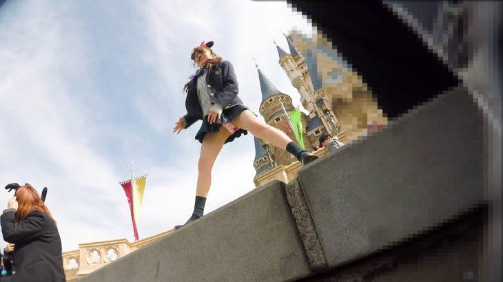 【朗報】JKさん、ディズニーでパンツを撮られてしまう
