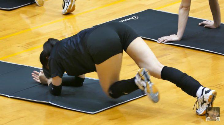 【画像】なぜ女子バレー選手の体はエロいのか