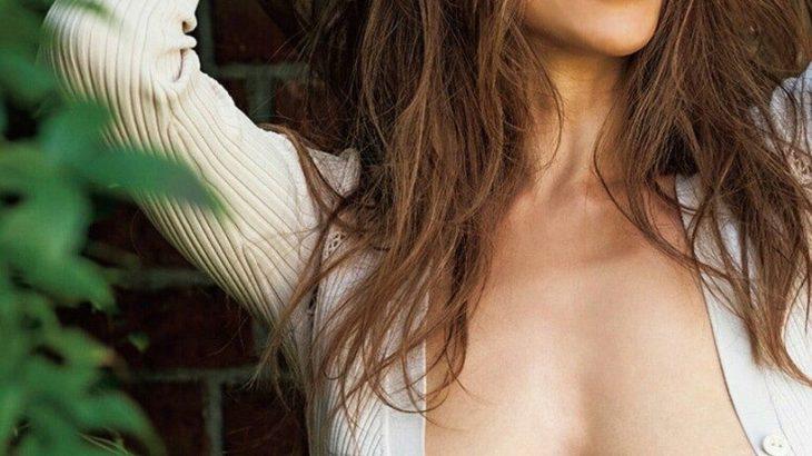 【画像】道端アンジェリカのぷっくり乳首(35)