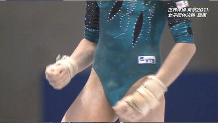 【画像】新体操ロシア美少女