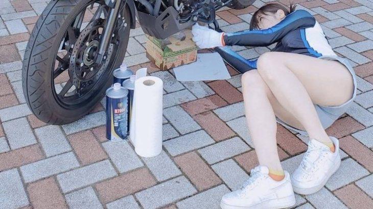 【画像】バイク乗りの女さん「あのぉ~バイク壊れちゃって原因わかんなくてぇ~見てもらえたりしませんかぁ♡」