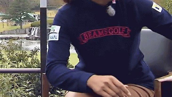 【画像】渋野日向子のパンツが丸見え