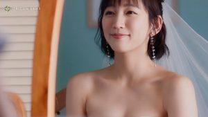 【画像】吉岡里帆のウエディングドレス姿めちゃくちゃエッチ