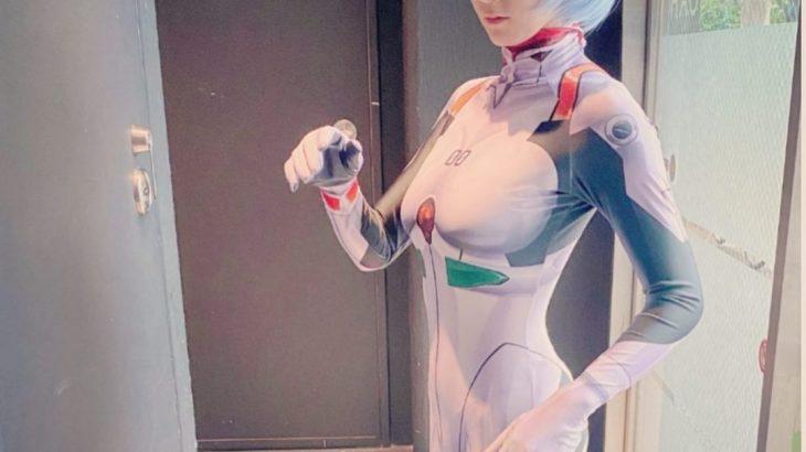 【画像】加護亜依の綾波レイコスかわいい